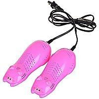 Naisidier Seco Zapatos secador Desodorante esterilizador Aire deshumidificador Electro-Anti Olor Elimina la Humedad para Zapatos Botas Zapatos de fútbol