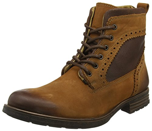 STEVEN by Steve Madden Gannon Lace Up, Bottes Homme