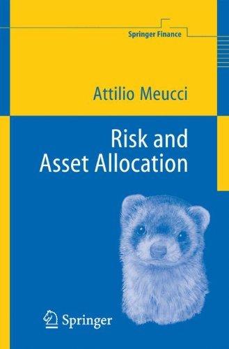Risk and Asset Allocation (Springer Finance) by Attilio Meucci (2005-01-11)