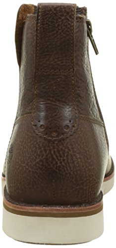 Timberland Men s Preston Hills Plain Toe Pull-On Chelsea Boots  Brown  Light Potting Soil   7 UK