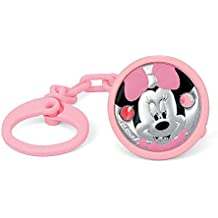 Pinza chupete plata Ley 925m Disney bebé bilaminado Minnie [AC0002]