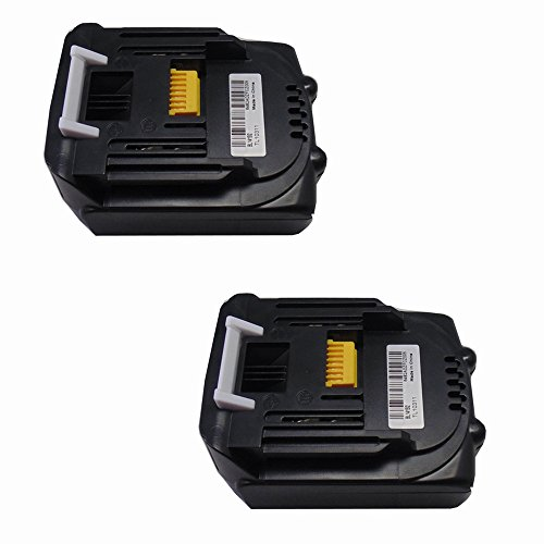 Preisvergleich Produktbild 2X 1,5 Ah Ersatzakku für Makita BL1415 BL1430 14.4V li-Ion 1500 mAh (LG Zellen)