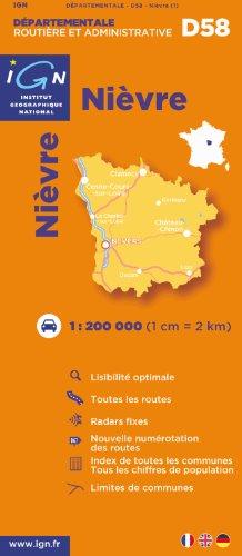 D58 Nievre 1/200.000