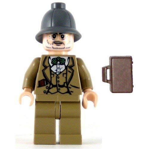 LEGO Indiana Jones Minifig Henry Jones Senior