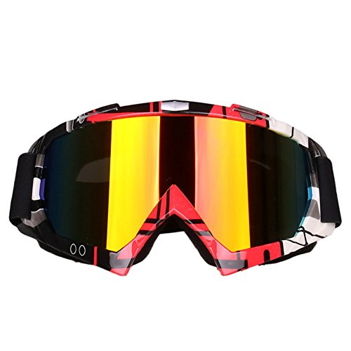 ZREAL Gafas de Snowboard de esquí Prevenir Wind Snowmobile Dirt Bike Gafas Motocross Off-Road Eyewear Cool len