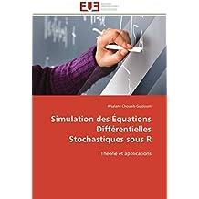 Simulation des équations différentielles stochastiques sous r