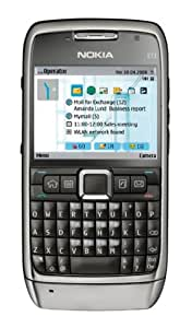 Nokia E71 Handy Ohne Sim Lock - Schwarz: Amazon.de: Elektronik