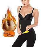 SEXYWG Damen Schwitzgürtel Bauchgürtel Verstellbarer Abnehmen Fitnessgürtel Taillentrimmer zur Fettverbrennung