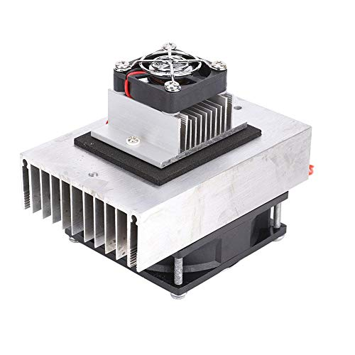 Mootea Kühlsystem, 1 Stücke DC12V Semiconductor Kühlschrank Kühlsystem DIY Kit Mini Klimaanlage -