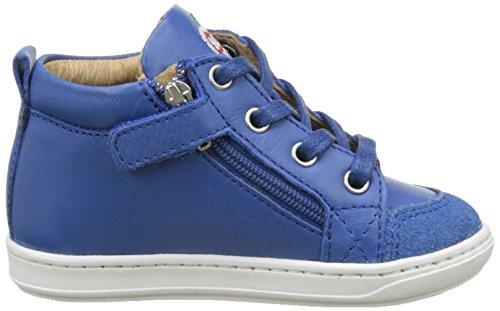 Shoopom Bouba Bi Zip, Baby Jungen Babyschuhe - Lauflernschuhe Blau (Azur)