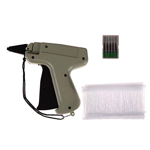 Unterbrechen Kleidung, Kleidungsstück Preis Label Tagging Tag Gun 7,6cm + 1000Heftfäden 5Nadeln (Boxen Kleidungsstück)