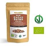 Roh Kakaobohnen Bio 200g | Organic Raw Cacao Beans | 100% Rohkost, Natürlich, Rein | Produziert in Peru aus der Theobroma Cocoa Pflanze | Superfood reich an Antioxidantien, Mineralien und Vitaminen.