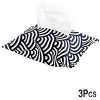Comparador de precios Z@SS-Bolsa de almacenamiento de la caja del tejido de algodón / algodón tejido cubierta de toallas de tejido del tejido del coche del bolso del papel de tejido del cartucho de caja de toallas 3 piezas (24 * 18 cm) , auspicious clouds - precios baratos