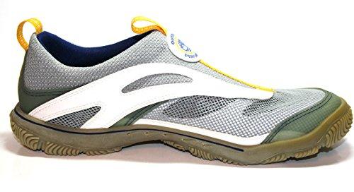 Timberland chaussures slip-on 20181 de dentelle avec armatures-gris/jaune Gris - Grau/Gelb