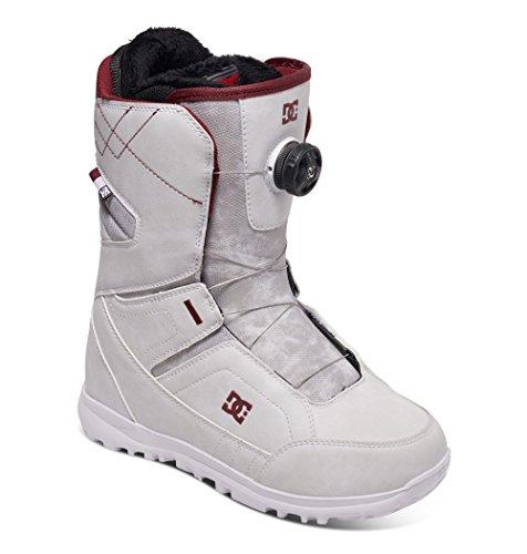 Dc search scarponi da snowboard, bianco, 39