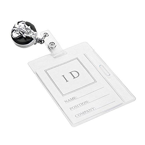 elefant-roll-mitarbeiter-id-badge-holder-silber-ton