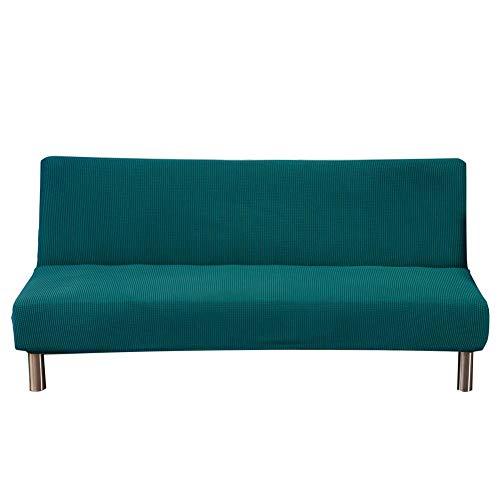 Ardentity copridivano elasticizzato, monocolore, senza braccioli, impermeabile, 3 posti, elastico, completamente pieghevole, adatto per divani pieghevoli.