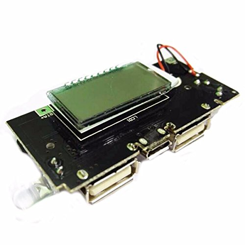 Generic Rkh-bg-1031593 Dual Usb 5v 1a 2.1a 18650 Battery Charger Mobile Power Bank Pcb Module Board, Multicolor Image 3