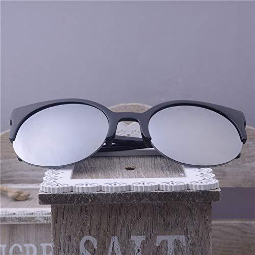WWVAVA Sonnenbrillen New Fashion Retro Designer Super Round Circle Brille Cat Eye Damen Sonnenbrille Brille Goggles-in Damen Sonnenbrille von Apparel Accessories, Blau