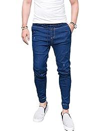 Amazon.es  pantalon vaquero cintura elastica hombre - Vaqueros ... b99bfcea461