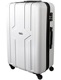 Karry Trolley Maleta De Carcasa Dura Viajes candado TSA Blanco 821