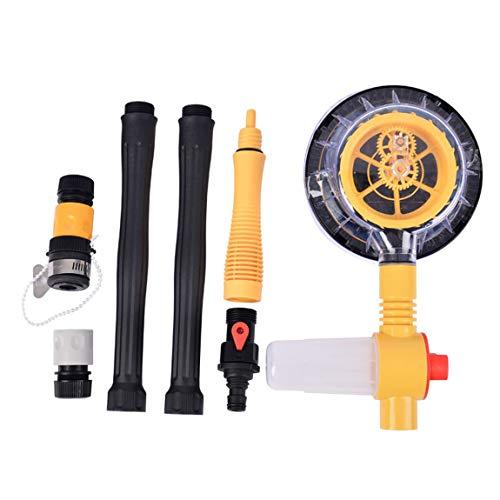 Haushalt PP-Material Haushaltsautowäsche Automatische Rotating Autowaschbürste Auto Pinsel Auto Car Wash Werkzeug, gelb