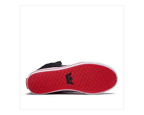 Supra Skytop S18091, Sneaker uomo Black/White/Red