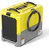 AlorAir 85L/Day Commercial Dehumidifier Portable Compact, 5 years warranty, Heavy-duty Pump, G3 filter, Timer, HGV defrosting, Rotational Moulded Body, Ideal for Moisture, Damp and Mould