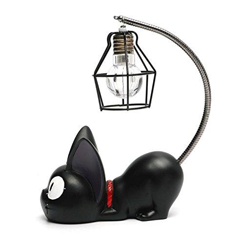 Créative Résine Kiki Chat Animal Night Light, Ornements...