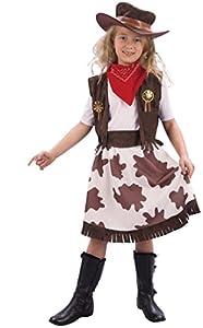 Reír Y Confeti - Fibcow027 - Disfraces para Niños - Cow Girl