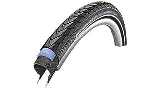 """Schwalbe Marathon Plus 16-24 inch tyre (Design: 20"""" (35-406) black/reflex)"""