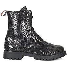 Aderlass 8-Eye Boots Leather Snake