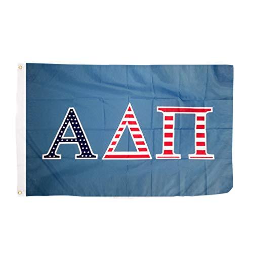 Desert Cactus Alpha Delta PI USA Buchstabe Sorority Flagge griechischen Buchstaben Verwenden als großes Banner 3x 5Fuß ADPI - Sorority Delta Delta Delta Geschenke