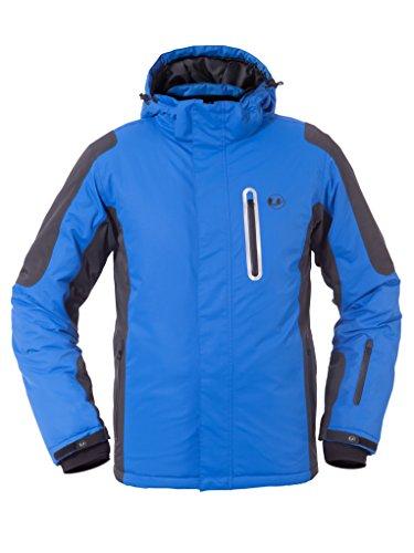 Ultrasport Herren Skijacke Ischgl, Blau, XL, 10040-2