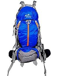 Himalayan Adventures 80 Ltrs Lite Blue Backpack/Rucksack/Travelling Bag/Hiking Bag/Adventure Bag/Camping Bag (...