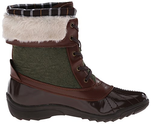 Anne Klein Sport Grania Damen Synthetik Schneestiefel Dark Brown
