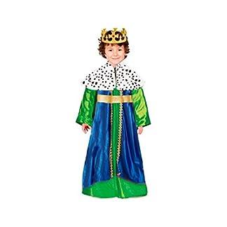 Disfraz Rey Mago Gaspar niño infantil para Navidad