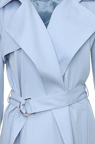 HUGO Damen-Mantel Trenchcoat Maliz 50333309 Damen Hellblau