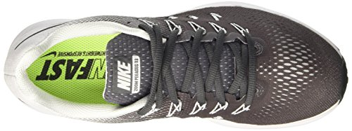 Nike 831352, Scarpe da Corsa Uomo Grigio (Dark Grey/Black/White)