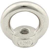 Ringmutter (gegossen und poliert) - M8 - ( 1 Stück ) - ähnl. DIN 582 - aus rostfreiem Edelstahl A2 (V2A) - Ösenmutter SC582 | SC-Normteile®