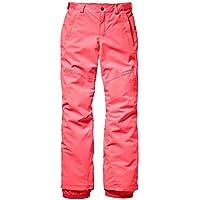 O 'Neill niña Charm Snow Pants, otoño/Invierno, Charm, Niñas, Color Naranja neón y Rosa, tamaño 140
