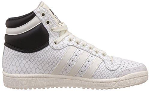Ten off White Damen core off Weiß White Top Basketballschuhe Hi Black Adidas 8FExUw1qq