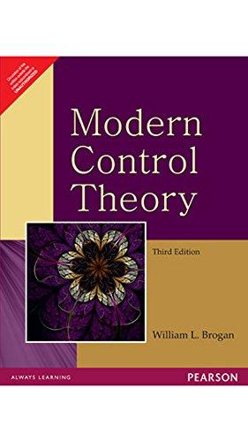 Modern Control Theory, 3rd Edition