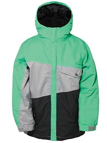 686 giacca da snowboard per bambini Authentic Angle - Green color block green colorblock L