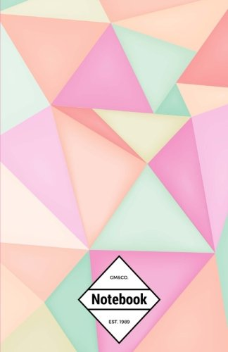 gmco-notebook-journal-dot-grid-lined-graph-120-pages-55x85-pastel-cute-polygon-abstract