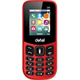 Detel D4 (Made In India) 1.8 Display + Dual Sim + Auto Call Recorder + Digital Camera + Flashlight + Video Recorder + Vibrator + Wireless FM + Power Saving + Audio Video Player + Call Blacklist + 16GB Expandable Memory