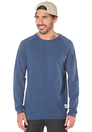 Cleptomanicx Flecker Sweatshirt Navy XL