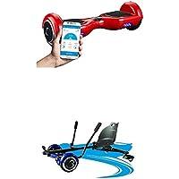 "SmartGyro X2 rojo, 6.5"" + Crazy-Kart Black"