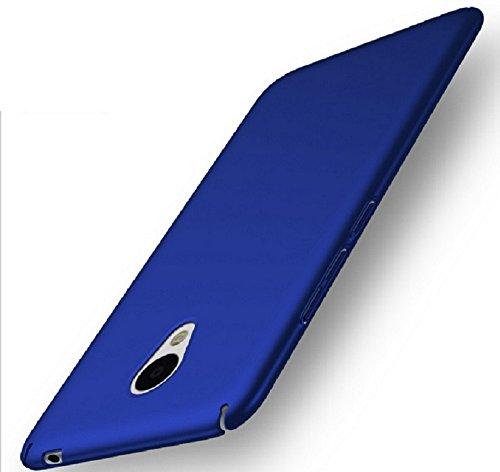 Apanphy Meizu M5 Note Hülle , Hohe Qualität Ultra Slim Harte Seidig Und Shell Volle Schutz Hinten Haut Fühlen Schutzhülle für Meizu M5 Note, Blau