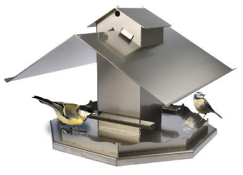 Sonstiges Hochwertiges Design Vogelfutterhaus aus Edelstahl - 2